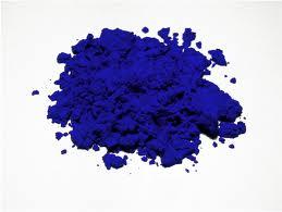 blu klein polvere