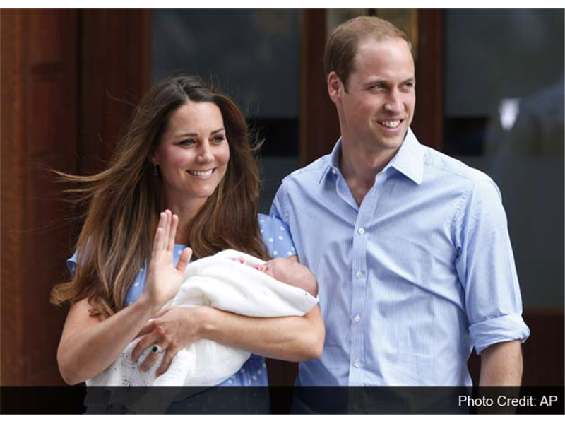 Royal Baby e il fashion system impazzisce