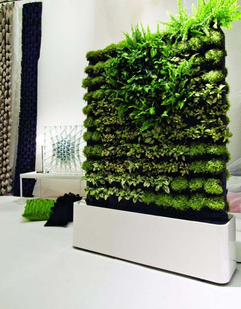 Tendenze green il giardino verticale i murr - Giardino verticale interno ...