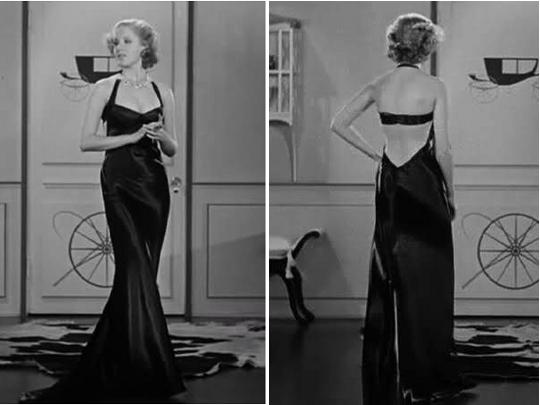 1935 blk dress