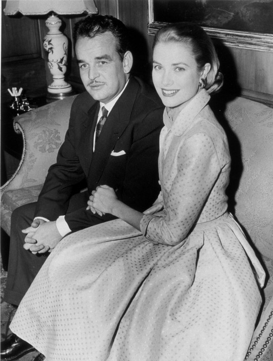 Engagement of Grace Kelly and Prince Rainier of Monaco, 1956© Snap/Rex features
