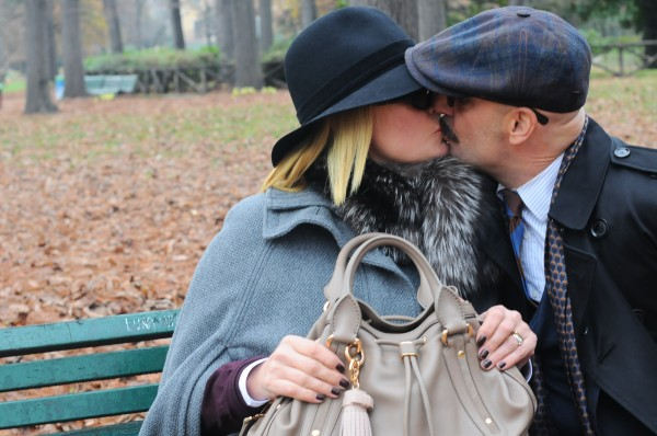 bacio in the park