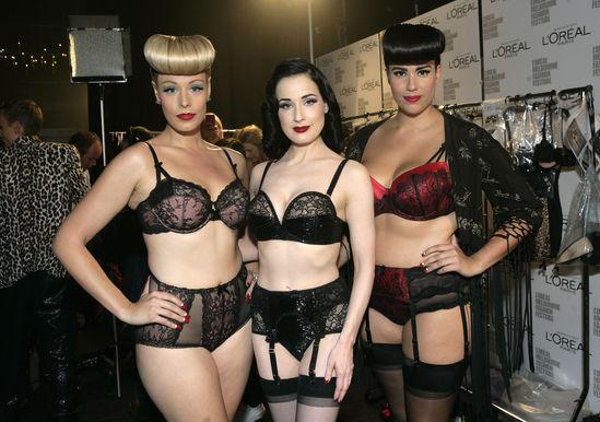 Dita Von Teese lancia la sua prima collezione di lingerie Von Fo