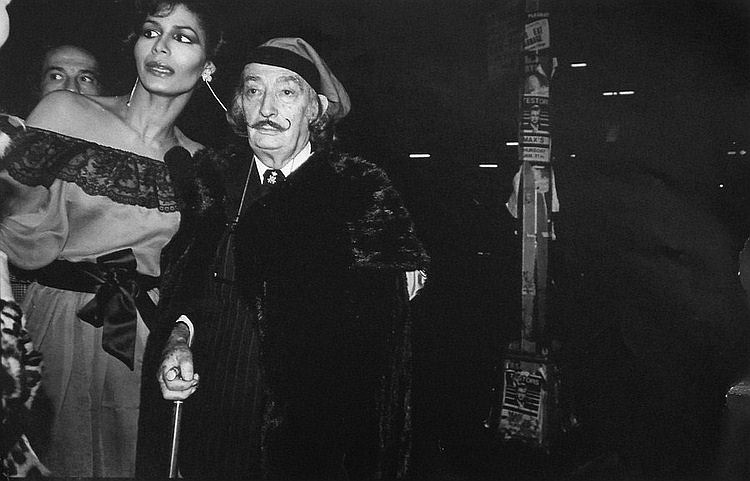dali at Studio 54