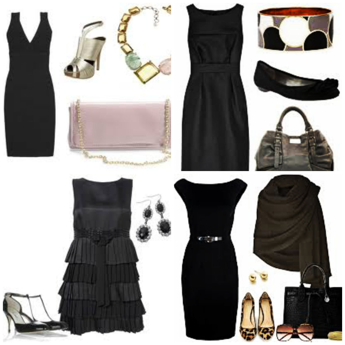 Little black dress history and inspirations i murr for Jewelry accessories for black dress