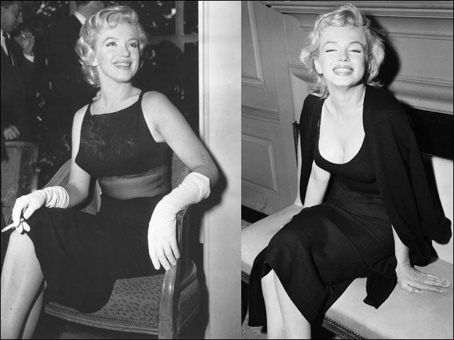 marilyn-monroe-little-black-dress
