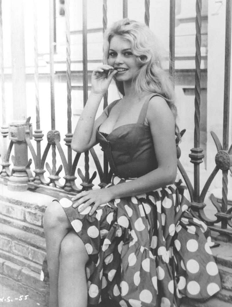 Brigitte Bardot as Eva