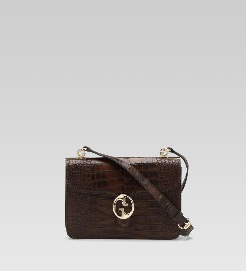 gucci-1973-medium-shoulder-flap-bag-dark-brown-washed-crocodile-1