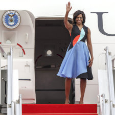 Michelle Obama  – Stile e simpatia