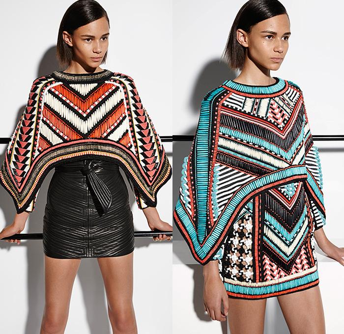 pierre-balmain-2015-resort-cruise-pre-spring-women-fashion-looks-embellish-beads-embroidery-poncho-wrap-sash-belt-kimono-flare-coatdress-white-ruffles-01x