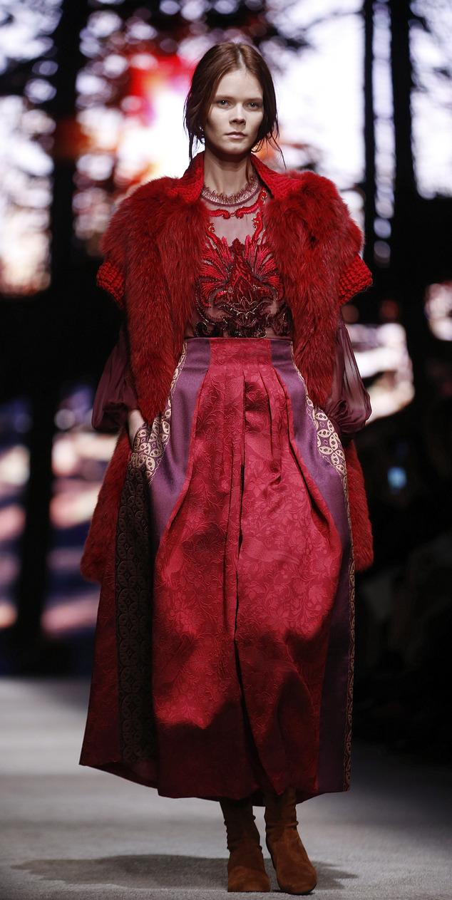 Italy Fashion Alberta Ferretti