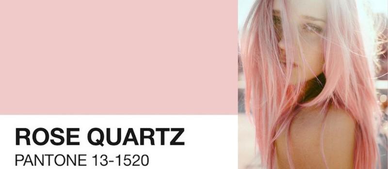 Cor do ano 2016 rosa quartzo pantone