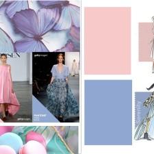 Color Trend Pantone 2016- Rose Quartz & Serenity