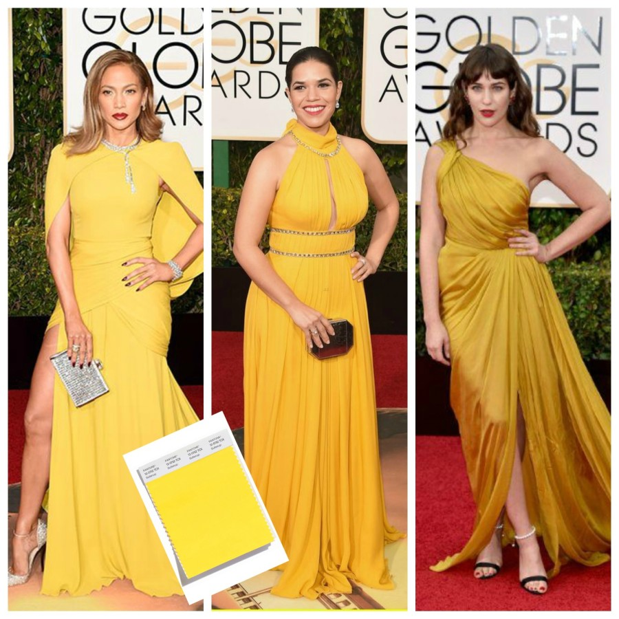 GOLDEN GLOBES RED CARPET STATEMENT COLOR - BUTTERCUP - Lynda Quintero-Davids - Focal Point Styling - nyclqinteriors ii