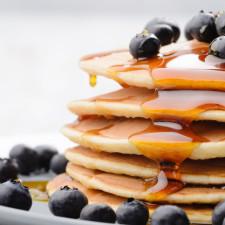 Pancakes vegani del sabato!