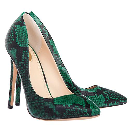 Tabitha Green Snake Print