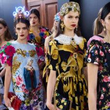 Milano Fashion Week Donna P/E 2017 - DOLCE & GABBANA