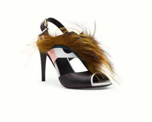 Sandals-With-Fox-Fur-Fendi-shoes-Fall-Winter-Collection