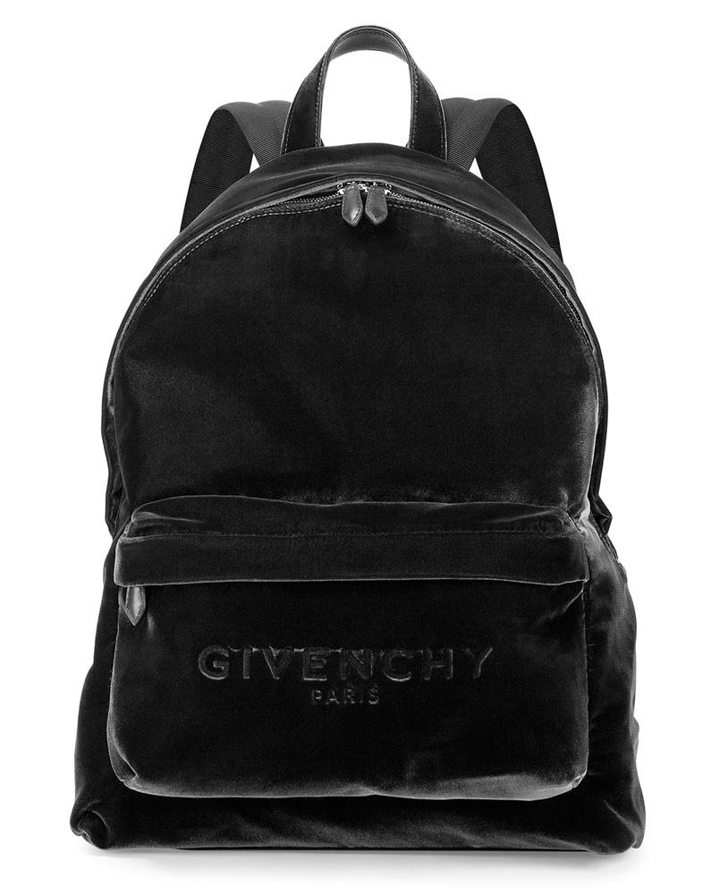Givenchy-Velvet-Backpack