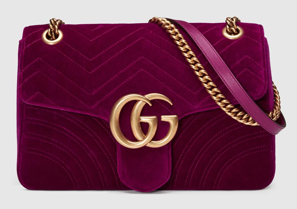 Gucci-Marmont-Velvet-Shoulder-Bag