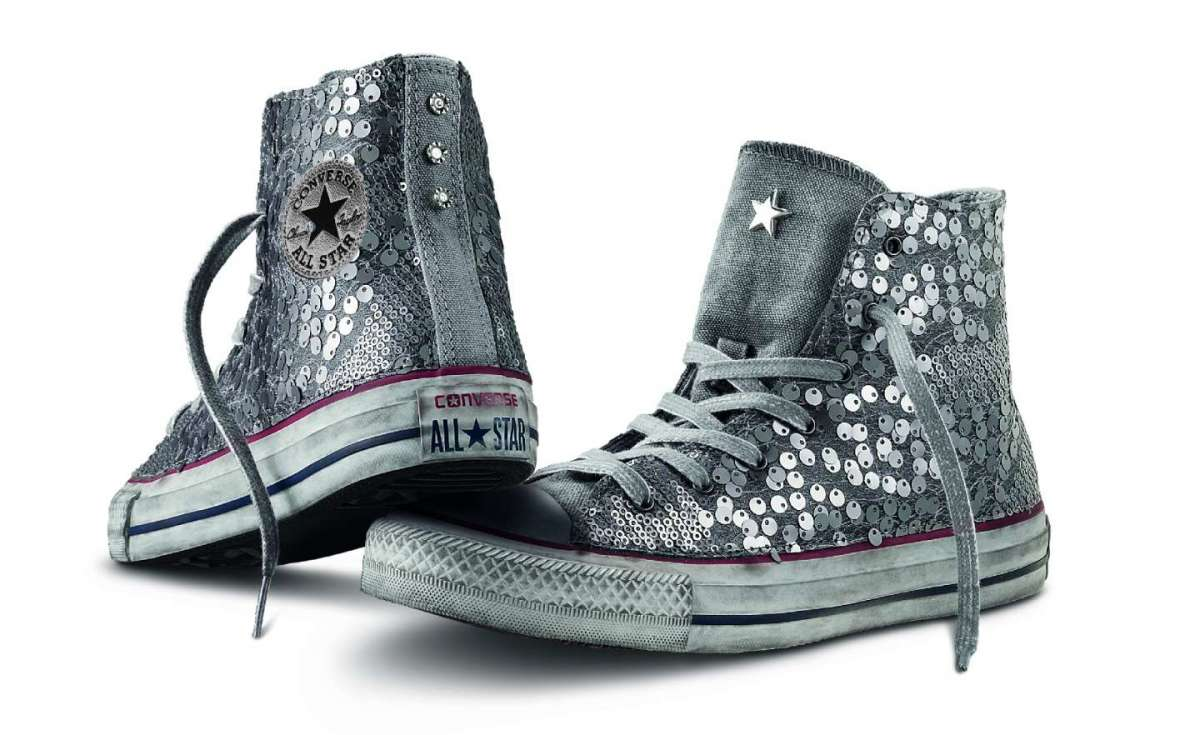 sneakers-argento-all-star-converse
