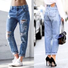 Trend P/E 2017 - Boyfriend jeans vs Mom Jeans