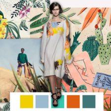 Pantone Color Palette P/E 2018 - Tutti colori di tendenza nei prossimi mesi