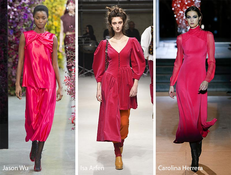 Color Trending Pink: Trend Colori Autunno 2018