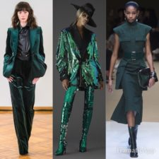 Trend color ai 2018-19: Quetzal Green
